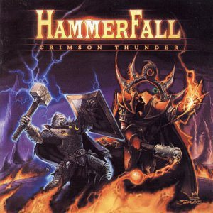 Hammerfall - Crimson Thunder cover art