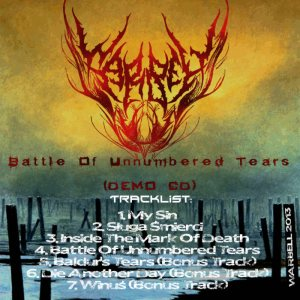 Warbell - Battle of Unnumbered Tears cover art