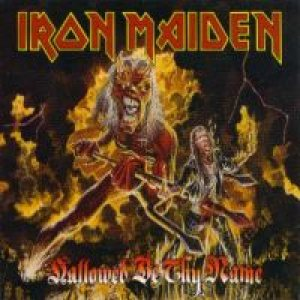 Iron Maiden - Hallowed Be Thy Name cover art