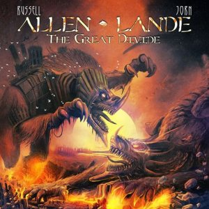 Russell Allen / Jørn Lande - The Great Divide cover art