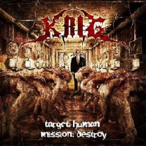 Krig - Target: Human Mission: Destroy cover art