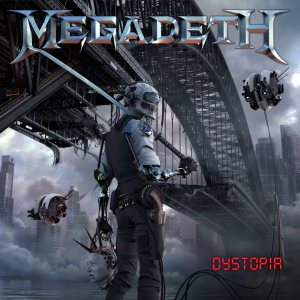 Megadeth - Dystopia cover art