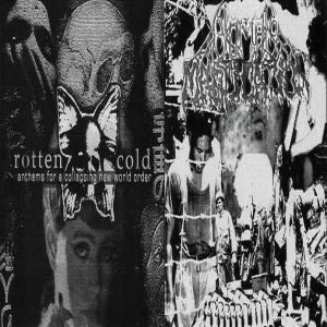Human Mastication / Rotten Cold - Anthems for a Collapsing New World Order cover art