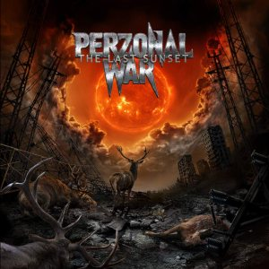 Perzonal War - The Last Sunset cover art
