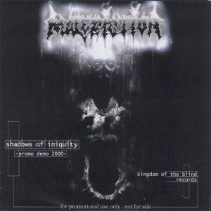 Malediction - Shadows of Iniquity cover art