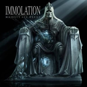 Immolation - Majesty and Decay cover art
