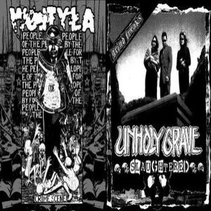 Unholy Grave - Slaughtered / Crime Scene cover art