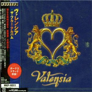 Valensia - The Blue Album cover art
