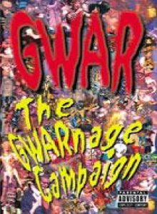 Gwar - The GWARnage Campaign cover art