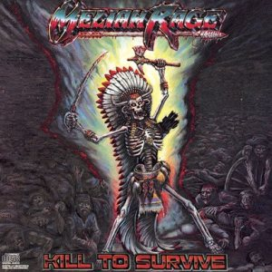 Meliah Rage - Kill to Survive cover art