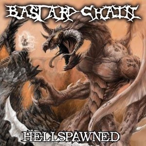 Bastard Chain - Hellspawned cover art