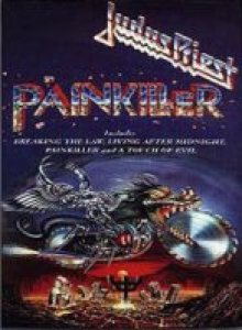 Judas Priest - Painkiller cover art