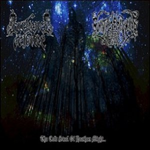 Darkened Winter / Summon The Tempest Winds - The Cold Steel of Heathen Might cover art