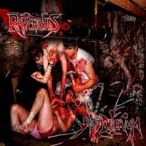 The Ravenous - Blood Delirium cover art