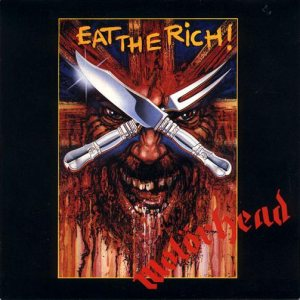 Motorhead - Eat the Rich cover art