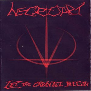 Necroart - Let the Carnage Begin cover art