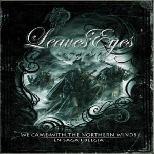 Leaves' Eyes - We Came with the Northern Winds / En Saga I Belgia cover art