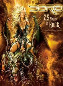 Doro - 25 Years in Rock cover art