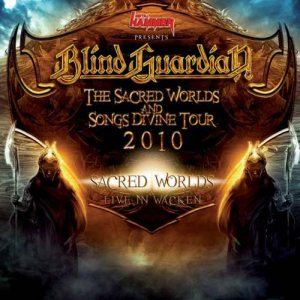 Blind Guardian - The Sacred Worlds and Songs Divine Tour 2010 cover art