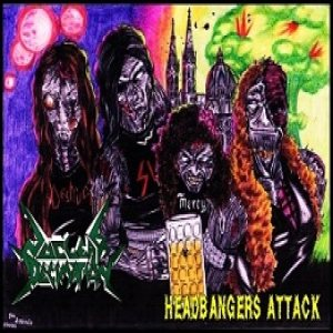 Nuclear Decimation - Headbangers Attack cover art