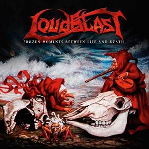 Loudblast - Frozen Moments Between Life and Death cover art