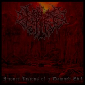 Hordes of Hate - Impure Visions of a Damned Evil cover art