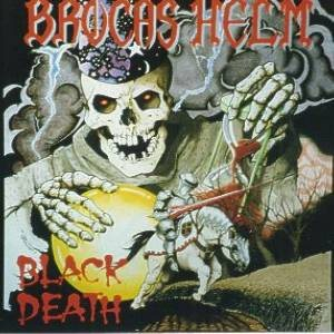 Brocas Helm - Black Death cover art