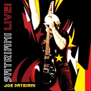 Joe Satriani - Satriani Live! cover art