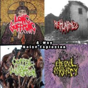 Long Suffering / Rehumanize / Eternal Mystery - 4-Way Noise Explosion cover art