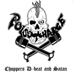 Poisöncharge - Choppers, D-beat and Satan cover art