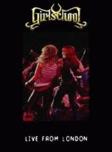 Girlschool - Live from London cover art