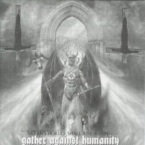 Kult ov Azazel / Obitus - Gather Against Humanity cover art