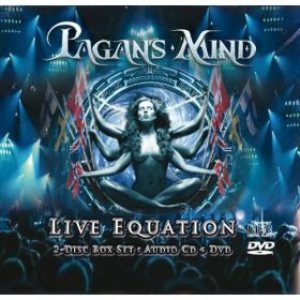 Pagan's Mind - Live Equation cover art