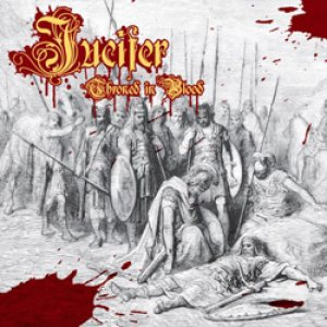 Jucifer - Throned in Blood cover art