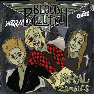 Blood Pollution - Metal Zombies cover art