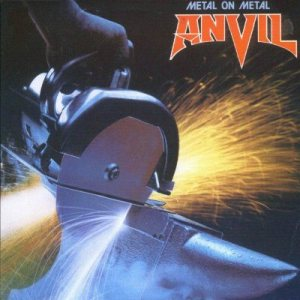 Anvil - Metal on Metal cover art