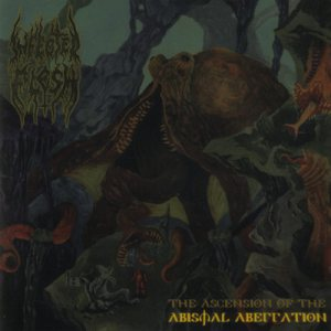 Infected Flesh - The Ascension of the Abysmal Aberration cover art