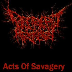 Decrepit Artery - Acts of Savagery cover art