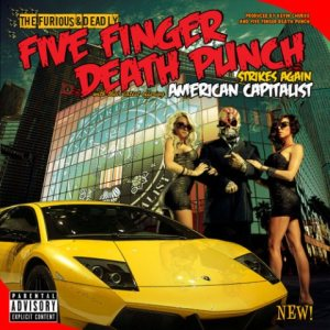 Five Finger Death Punch - American Capitalist cover art