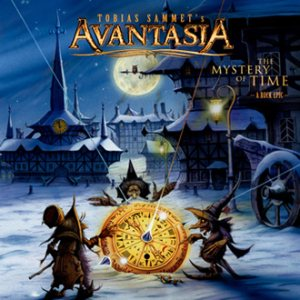 Avantasia - The Mystery of Time cover art
