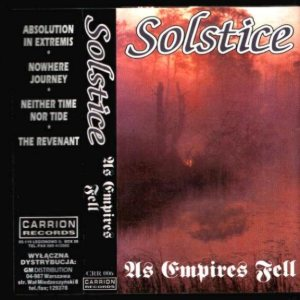 Solstice - As Empires Fell cover art