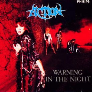 Action! - Warning in the Night cover art
