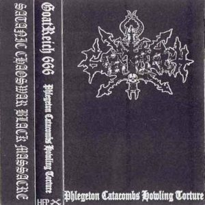 Goatreich 666 - Phlegeton Catacombs Howling Torture cover art