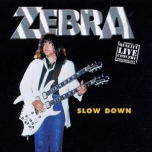 Zebra - Slow Down cover art
