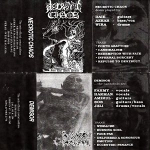 Necrotic Chaos / Demisor - Into the Dark Desire / Demisor cover art