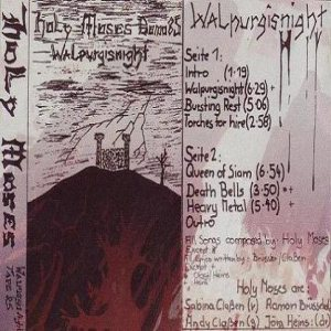 Holy Moses - Walpurgisnight cover art