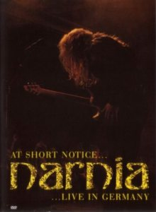 Narnia - At Short Notice... Live in Germany cover art
