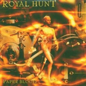 Royal Hunt - Paper Blood cover art