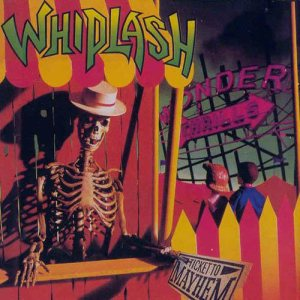 Whiplash - Ticket to Mayhem cover art