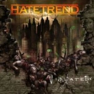 Hatetrend - Violated cover art